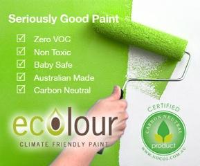 Ecolour Non-Toxic Paint
