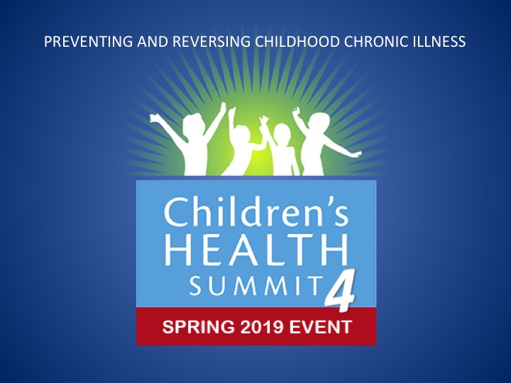The Children's Health Summit 2019
