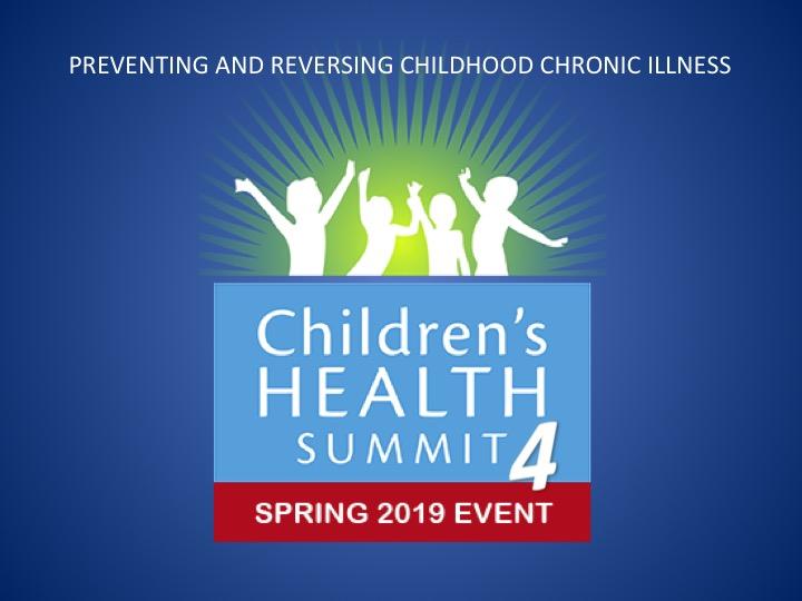 The Children's Health Summit 2019